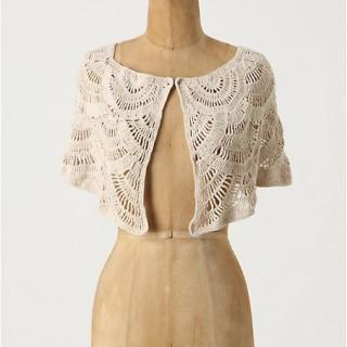 Crochet Fashion: Anthropologie Capelette