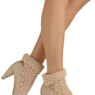 Crochet Fashion: Modcloth Heels