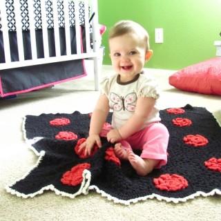 Flower Hexi Baby Afghan Pattern