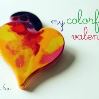 Colorful Valentines (Free Printable!)