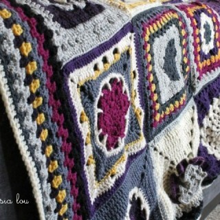 Finished Crochet Along Afghan
