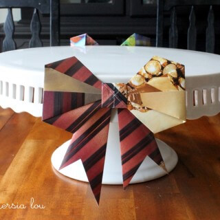 Origami Bow Decor