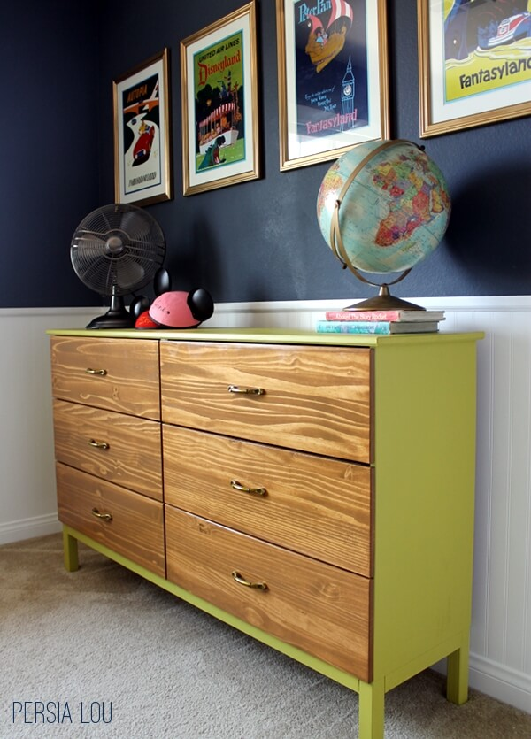 ikea tarva hack vintage disneyland room dresser persia lou. Black Bedroom Furniture Sets. Home Design Ideas