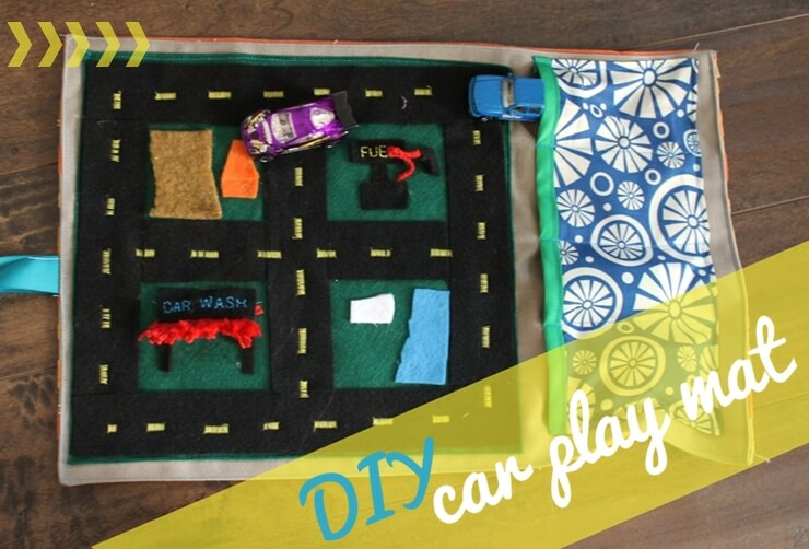 make your own play mat for cars