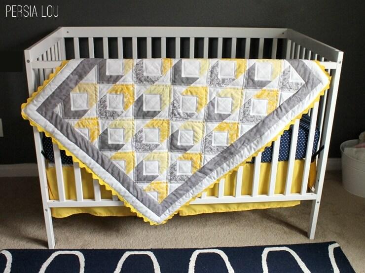 Diamond Baby Quilt