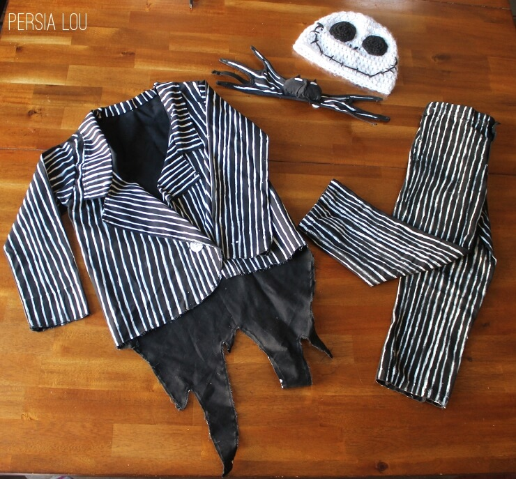 DIY Jack Skellington Kid's Costume