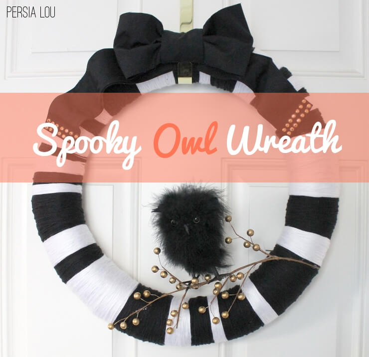 Owl Wreath and Halloween Project Parade