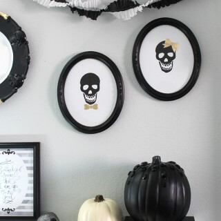 Mr. and Mrs. Skull Cameo – Free Printable!