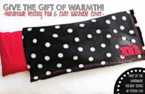 Handmade Heating Pad & Washable Cover Tutorial