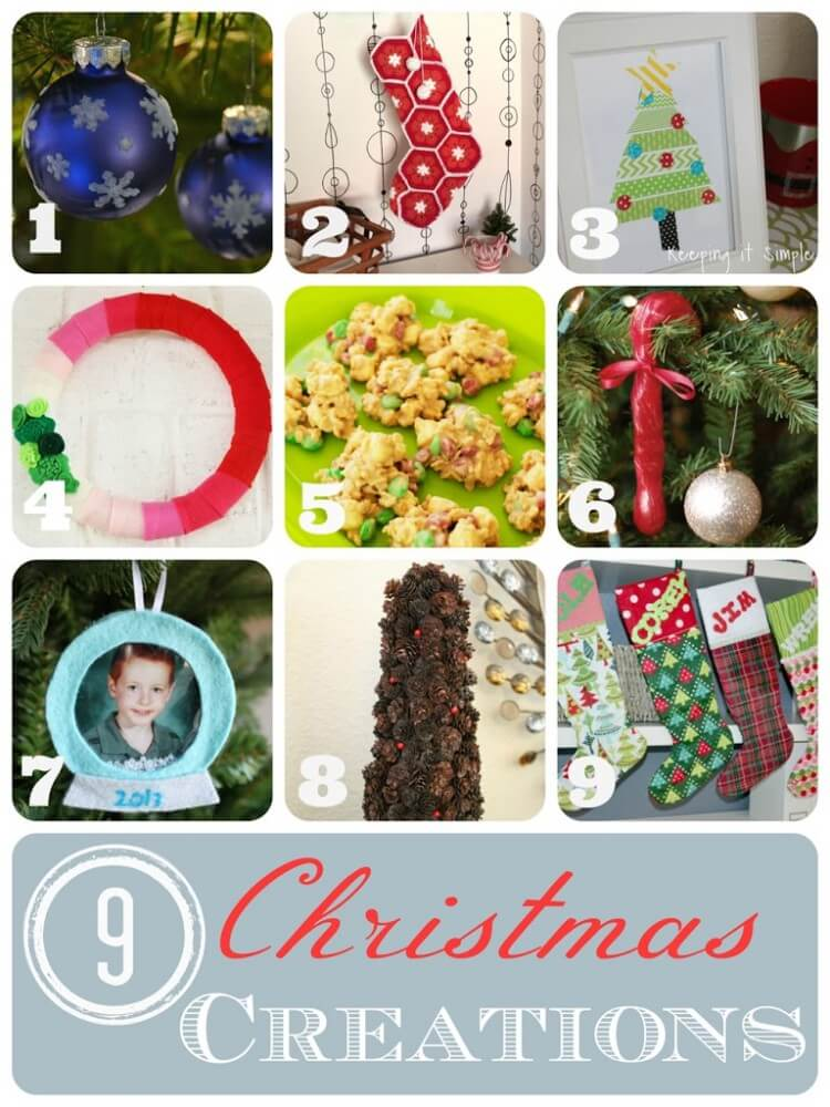 9 Christmas projects