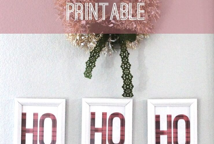 Ho Ho Ho! Free Christmas Printable