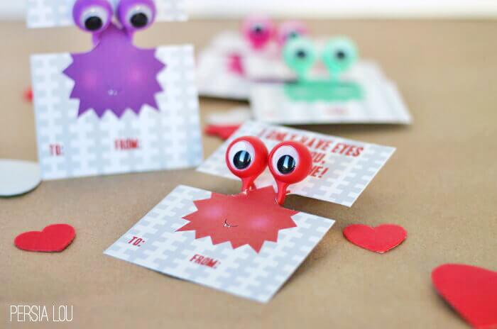 printable googly eye valentines