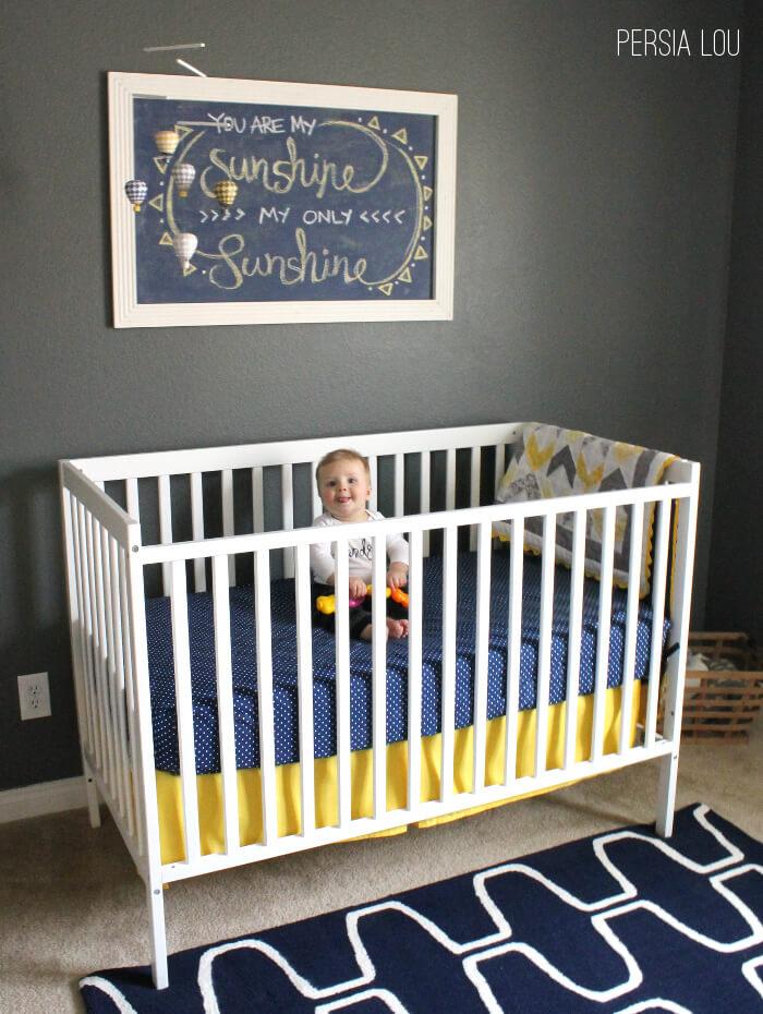 Baby Boy Nursery Reveal