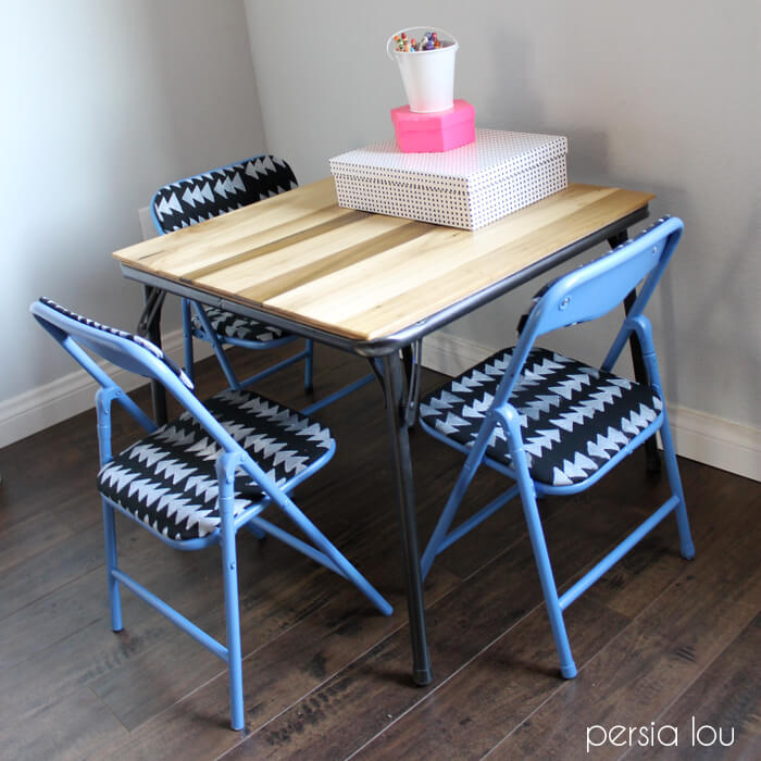 smart kids table set makeover