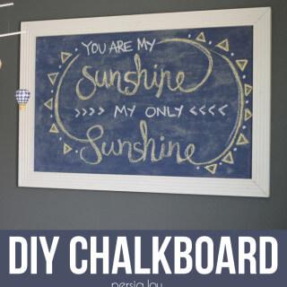 DIY Chalkboard – A Semi-Fail