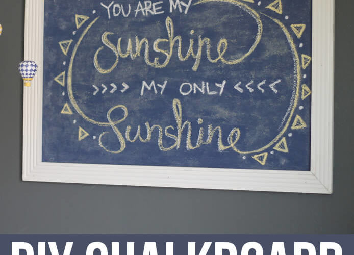 DIY Chalkboard – A Semi-Fail
