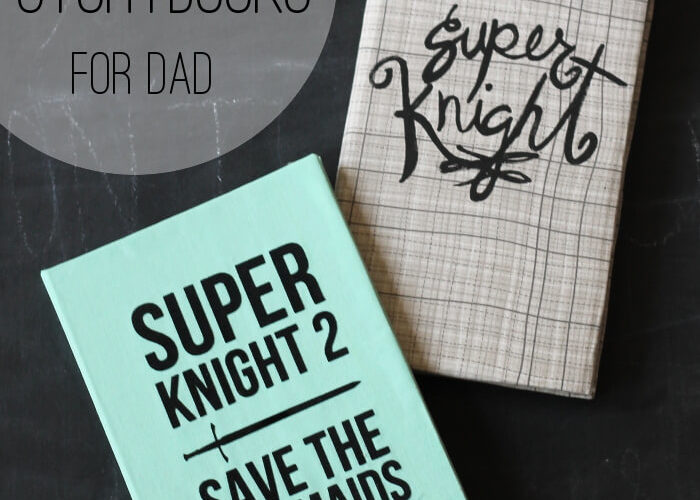 Kid-Crafted Storybook for Dad