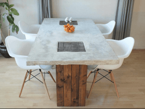 Fabulous DIY Concrete Table u Designer Eco