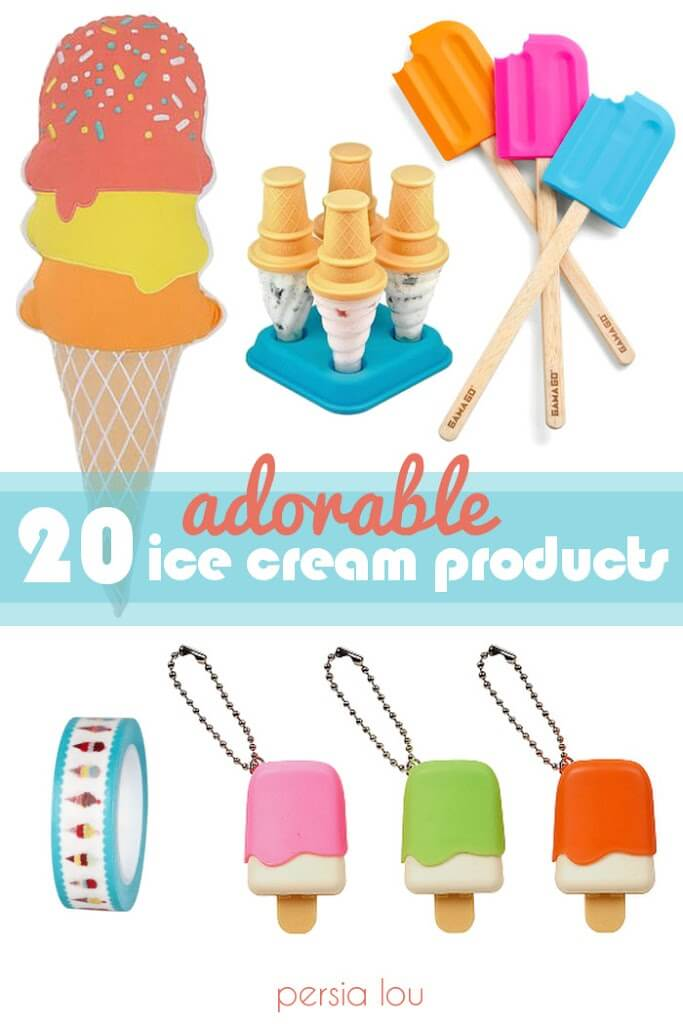 Cute Ice Cream Novelty Products