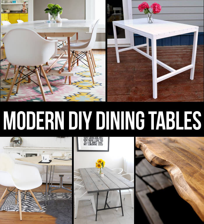 Modern Dining Table DIYs Persia Lou