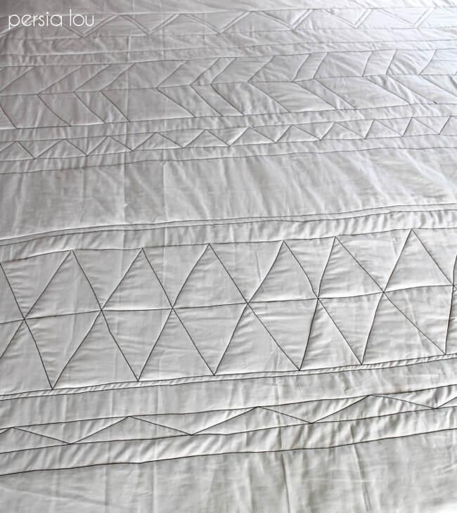 No-Piece Geometric Quilt Tutorial Part One - Persia Lou