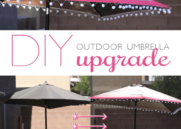Outdoor Umbrella Upgrade and Perfect BBQ Blog Hop