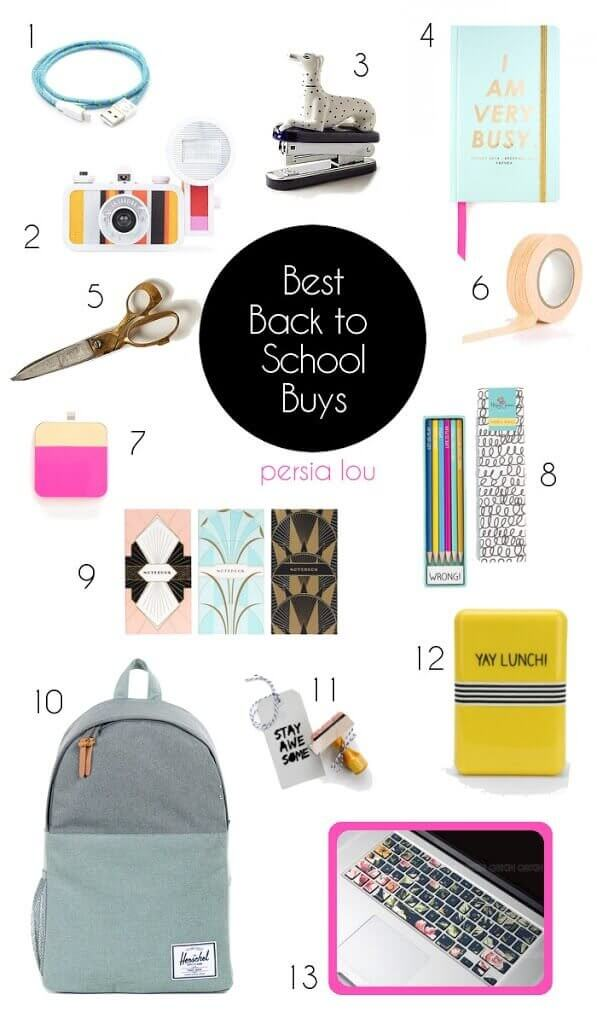 Back to School Best Buys