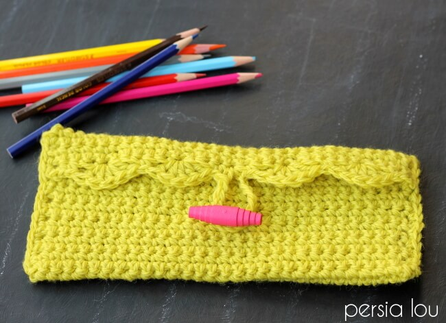 Simple Pencil Pouch by Alexis @ Persia Lou