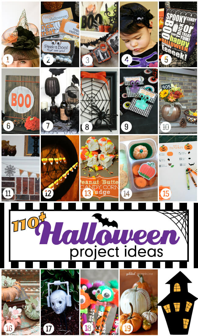 110+ Halloween Project Ideas