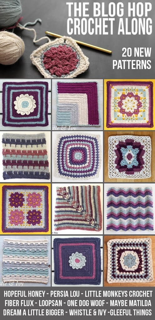 Framed Hexagon Afghan Square Pattern Day One Of The Blog Hop