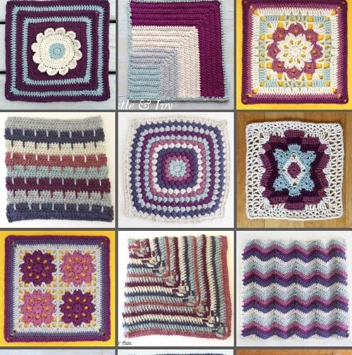 The Blog Hop Crochet Along