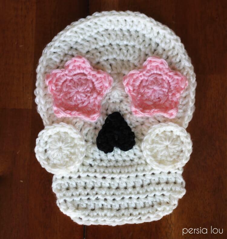 Crochet Sugar Skull Free Pattern Persia Lou
