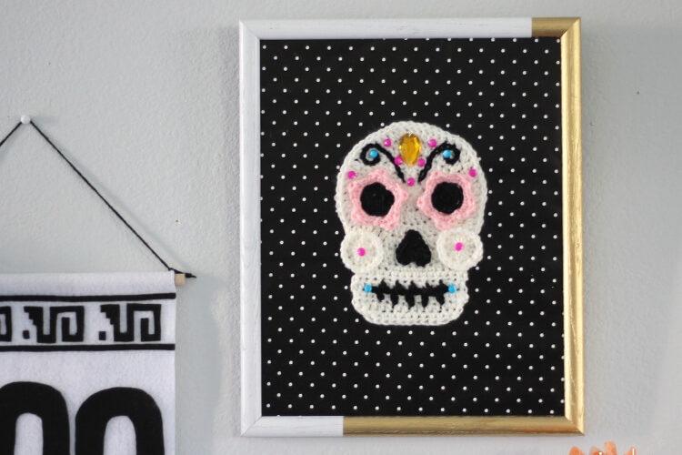 Crochet Sugar Skull – Free Pattern