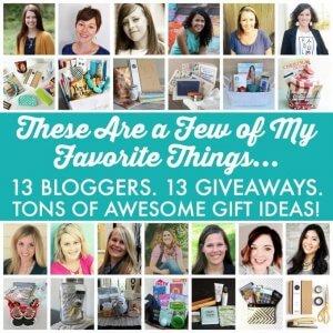 Favorite Things Giveaway | JustAGirlAndHerBlog.com