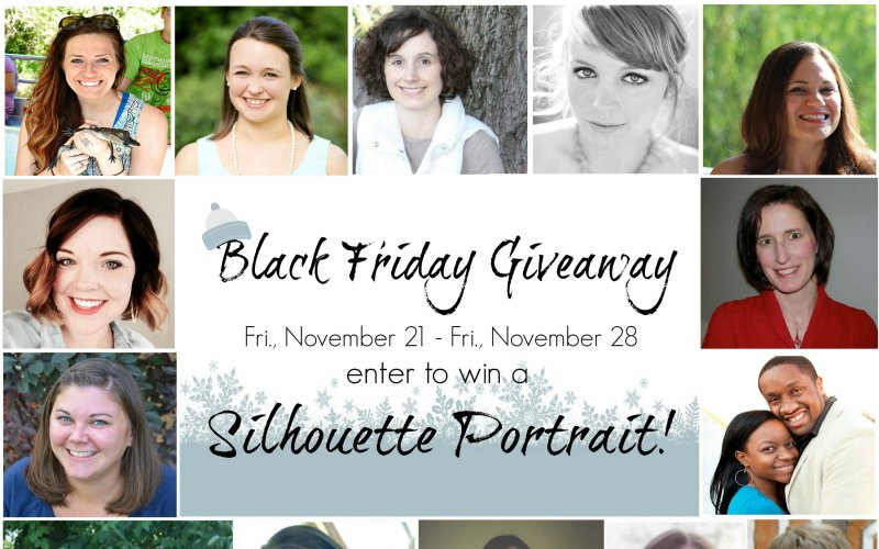 Black Friday Silhouette Giveaway
