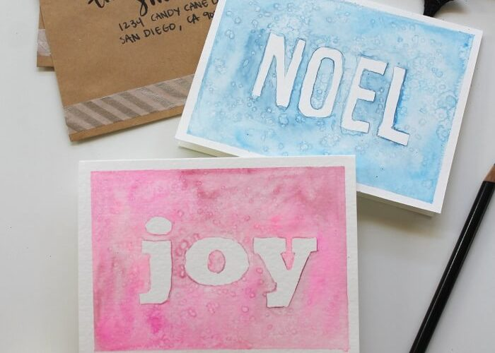 Homemade Watercolor Christmas Cards at Darice