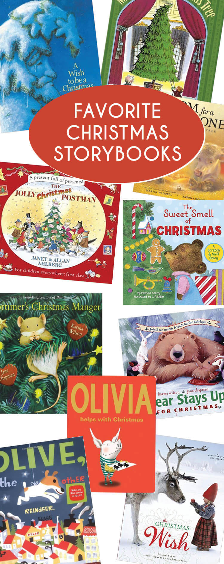 Our favorite Christmas storybooks - perfect for planning out your Christmas book advent