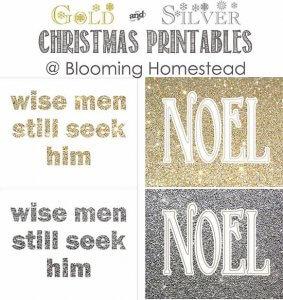 21 Free Christmas Printables - Blooming Homestead