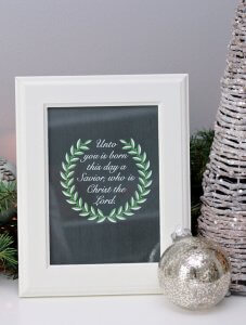 21 Free Christmas Printables - Just a Girl and Her Blog