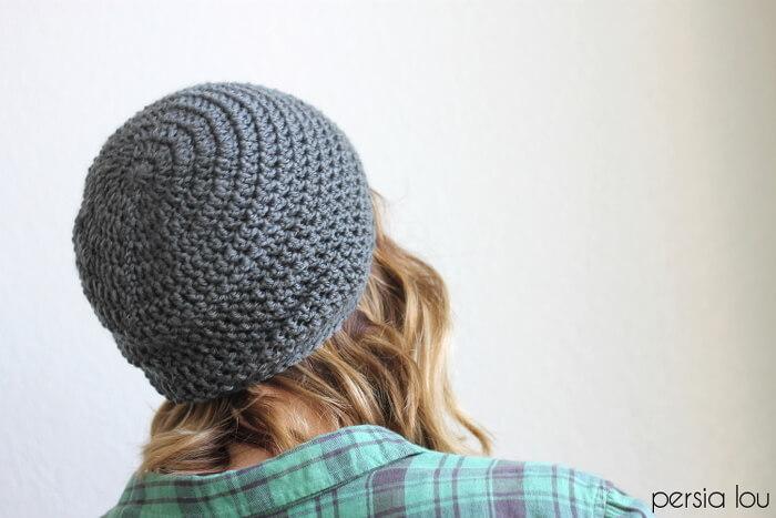 Free beginner crochet hat patterns for men