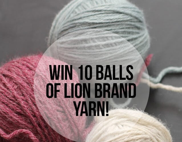 Blog Hop Crochet Along Yarn Giveaway from Lion Brand