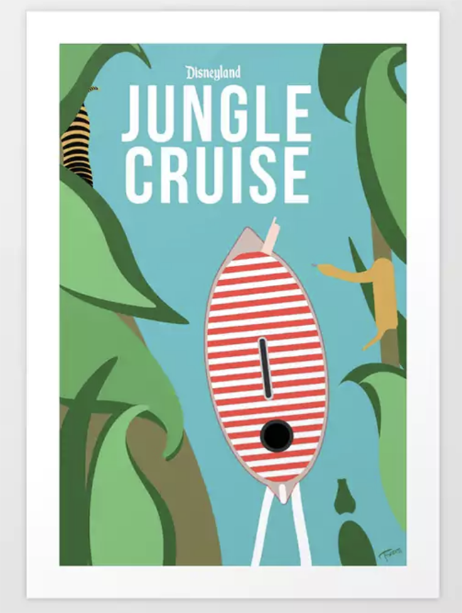 Jungle Cruise Disneyland poster