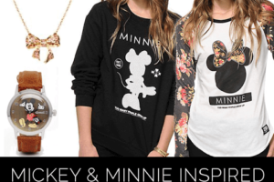 Disneyland Fashion: Mickey and Minnie
