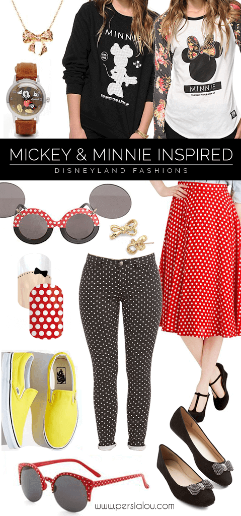 Disneyland Fashion: Mickey and Minnie