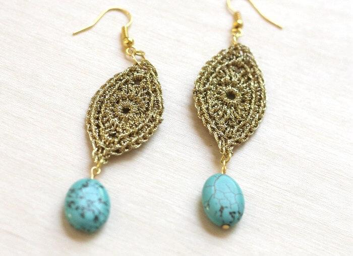 gold-crocheted-earrings-1