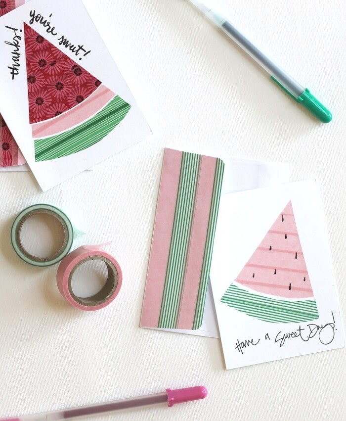 watermelon-washi-cards-2