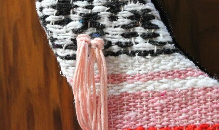 woven blanket summer wreath
