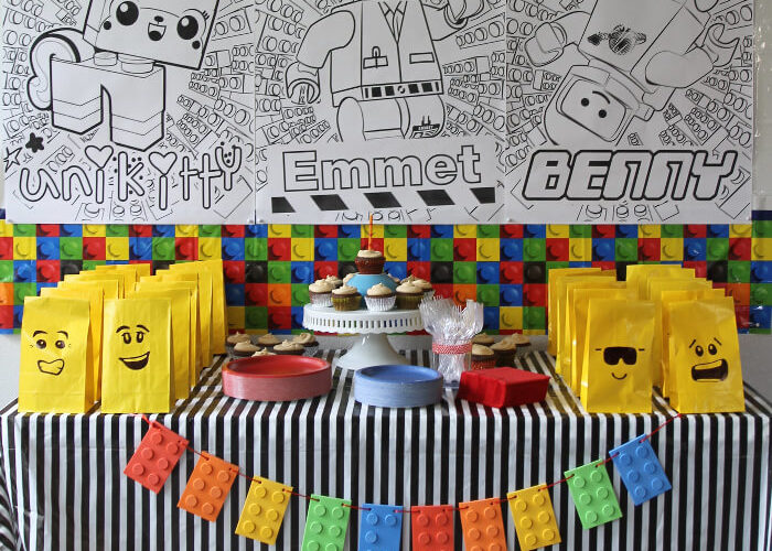 How to Throw a Simple Lego Movie Party