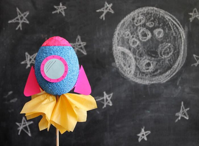 rocket ship kids craft