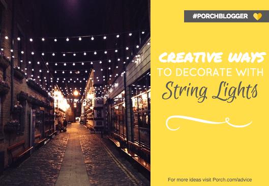 Creative Decorating Ideas Using String Lights